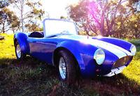 1500W 3/4 Mini Hot Rod Electric Classic AC Cobra Buggy Go Kart