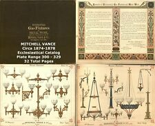 Mitchell Vance Catalog Lamp Light Gas Antique Vieillard Longwy Gien Pottery