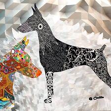 Doberman Pinscher Arts By Cecilia