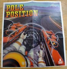 Atari Pole Position Poster vintage