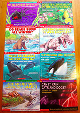 Lot 8 Scholastic QUESTION AND ANSWER SERIES Books & science Q&A L2