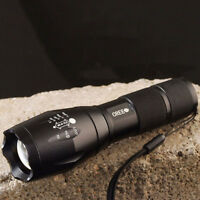 Hot Ultrafire E17 Cree XM-L T6 2000LM LED High Power Torch Zoomable Flashlight