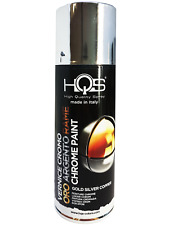 Vernice Spray HQS Speciale Argento Cromato 400 ml per Auto