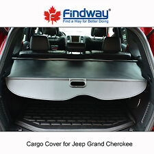 Black Cargo Cover Anti-Theft Shield For 2011-2015,2016,2017 Jeep Grand Cherokee