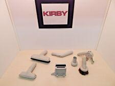 Kirby Vacuum G3 ( 7 ) Piece Accessories Set / lot Lt. Gray Genuine  GC