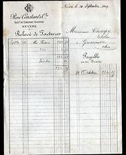 """NEVERS (58) BONNETERIE CHAUSSURES """"CONSTANT & GAUDRON / René CONSTANT"""" en 1919"""