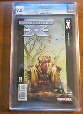Ultimate X-Men #20 - Mark Miller Story  CGC 9.8 Comic