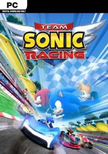 Team Sonic Racing PC Game Offline S Team Fast Post UK Great Condition Driving