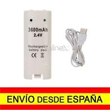 Batería Recargable para Mando Remote Wii Blanco desde España a2498