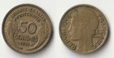 1931 France 50 centimes coin