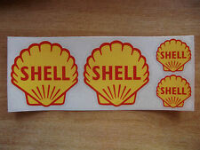 Style vintage classic shell LOGO AUTOCOLLANT Kit-voiture / moto stickers
