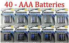 40 Wholesale Panasonic AAA Triple A Batteries heavy Duty Battery 1.5v Bulk lot