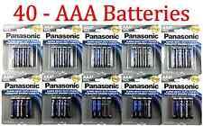 40 Wholesale Panasonic AAA Triple A Batteries heavy Duty Battery 1.5v Bulk lot