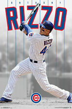Anthony Rizzo SLUGGER Chicago Cubs Official MLB Baseball WALL POSTER