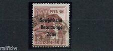 SBZ 60 Pfg. Maschinenaufdruck 1948 Plattenfehler Michel A 195 II geprüft (S9280)