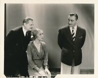 JOHN LIONEL BARRYMORE KAREN MORLEY Production Still 1932 ARSENE LUPIN MGM Photo