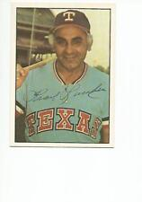 FRANK LUCCHESI Autographed Signed 1976 SSPC card Texas Rangers Phillies COA