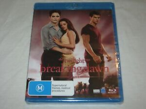 The Twilight Saga Breaking Dawn Part 1 - Brand New & Sealed - Region B - Blu Ray