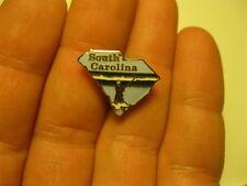 Vintage South Carolina  pin badge shield USA SELLER