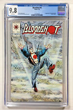 Bloodshot #6 CGC 9.8 NM/M white  Valiant comics 1st Ninjak 1993