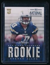 KEENAN ALLEN 2013 PRESTIGE NATIONAL CONVENTION RC 3/5 *SAN DIEGO CHARGERS*