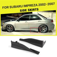 Auto Seitenröcke Schürzen Hintere Spats Strake Covers für Subaru Impreza 02-07