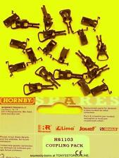 hornby international ho spares hs1103 1x coupling pack suits hl2003/07
