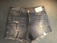 8763c79cc9 Arizona Jeans para Mujer 13 Hi-Rise Shortie Shorts Pantalones Cortos De  Mezclilla Nuevo Con Etiquetas