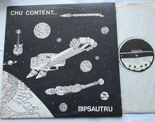 BIPSAUTRU Chu content NM- CANADA QUEBEC 1978 FOLK ROCK PROG FRENCH PRIVATE LP