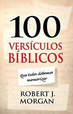 100 versiculos biblicos que todos debemos memorizar (Spanish Edition) .. NEW