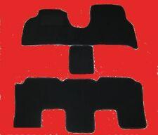 Passform-Velours-Fußmatten für Lancia Phedra hochwertige Autoteppiche in schwarz