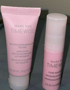 Mary Kay Microdermabrasion and Pore Refiner Set Travel Size New Expires 08/23