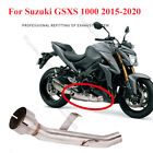 Mid Pipe for Suzuki GSX-S 1000 GSXS1000 2015-2020 Motorcycle Replace Cat Exhaust
