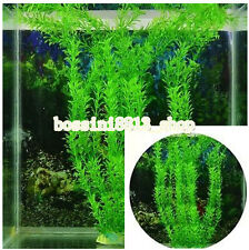 TOP! Artificial Plastic Water Plants For Fish Tank Aquarium Decoration 30cm Long
