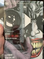 Batman: The Killing Joke Deluxe (New Edition) Hardcover Dc Comics Item: 22064