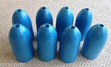 "BLUE Commercial Grade Crab Pot & Trap Buoys Float EIGHT Pack 5"" x 11"" Bullet"