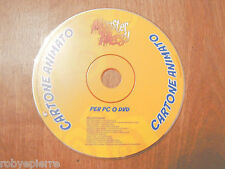 CD ROM cartone animato monster allergy 2006 rainbow srl per pc o dvd vedi foto