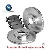 FOR PEUGEOT 308 2008-> REAR BRAKE DISCS SET AND DISC PADS KIT WITH BEARING