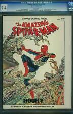 Marvel Graphic Novel #22 CGC 9.4 1986 Hooky! Spider-Man Cover! Magazine! cm