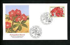 Postal History UN FDC G #281 Endangered Species Animals Pachypodium Baronii 1996
