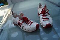 MELISSA Love system Damen Schuhe Tennis Sneaker Tennisschuhe Gr.37 weiß rot #76