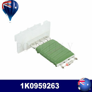 Blower Motor Heater Fan Resistor FITS VW Caddy Eos Golf Passat Tiguan 1K0959263