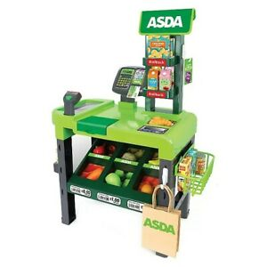 ASDA Toy Checkout Kids Roleplay Cash Register Pretend Play Supermarket Fun Gift