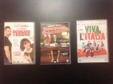 Scusate se esisto, Benvenuto presidente, Viva l'Italia  3DVD 12 €