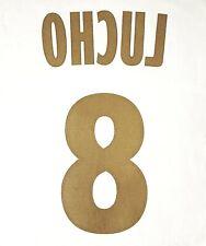 FLOCAGE LIGUE 1 - OLYMPIQUE MARSEILLE AWAY - LUCHO #8 (MONBLASON)