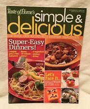 Taste of Home Magazine Simple & Delicious Sept / Oct. 2007 108 Quick Halloween