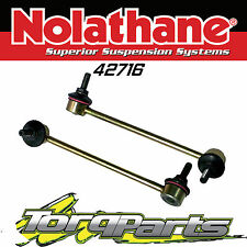 NOLATHANE FRONT SWAYBAR LINKS SUIT HOLDEN VE COMMODORE WM STATESMAN 42716 SS HSV