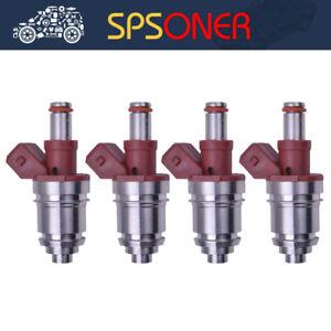 4PCS 16600-86G00 JS21-1 NEW Fuel Injector for 1990-1994 Nissan Pickup D21 2.4L