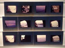 Lot 12 Vtg 1970 Ektachrome Helicopter Military Flight Photograph Color Slides