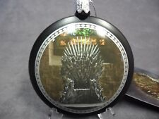 Game of Thrones New * Iron Throne Disc Ornament * Christmas Holiday Ornament